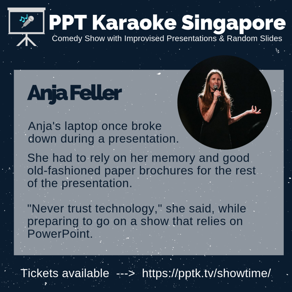 Anja Feller PowerPoint Karaoke Singapore