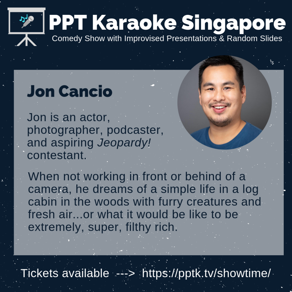 Jon Cancio PowerPoint Karaoke Singapore