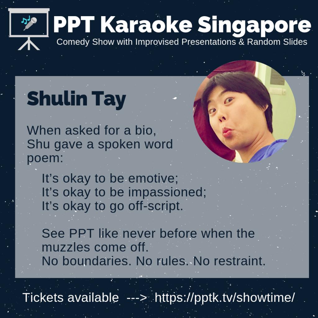 Shulin Tay PowerPoint Karaoke Singapore