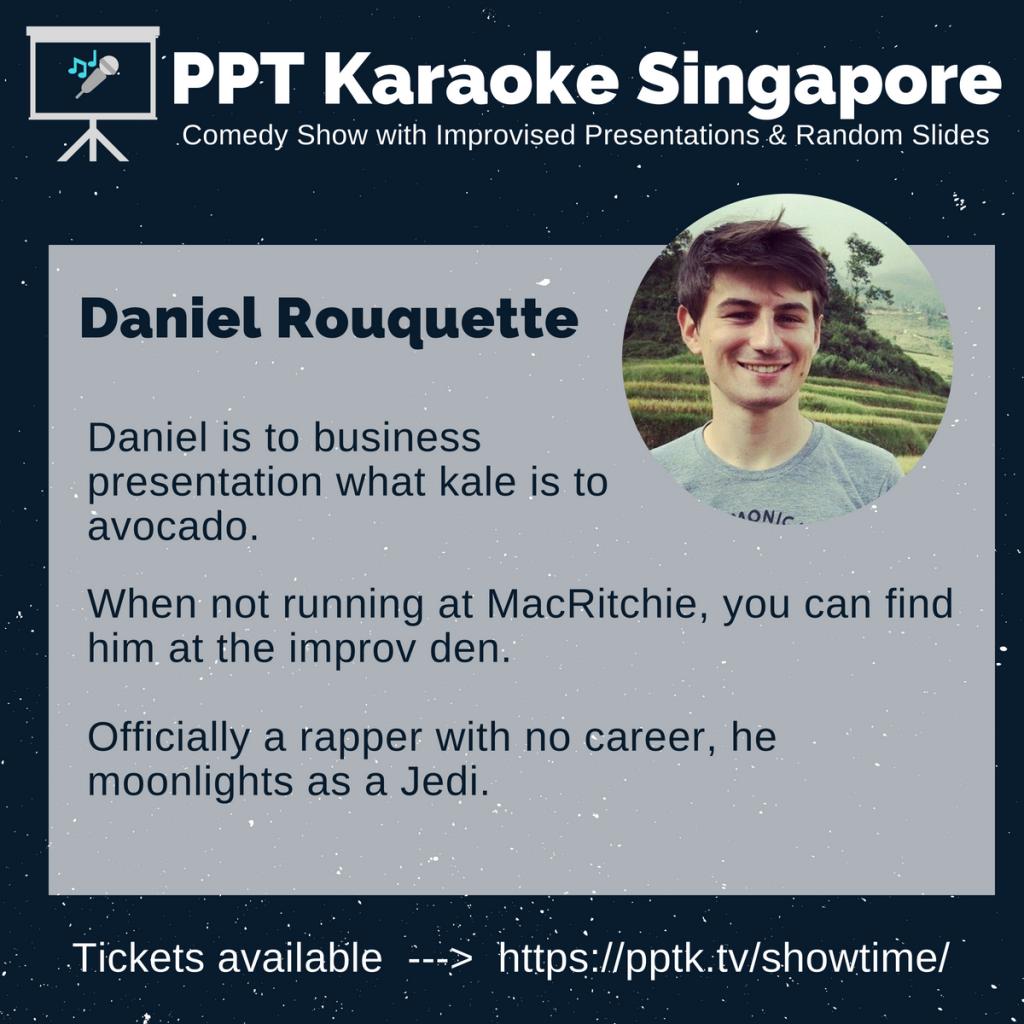 Daniel Rouqette PowerPoint Karaoke Singapore
