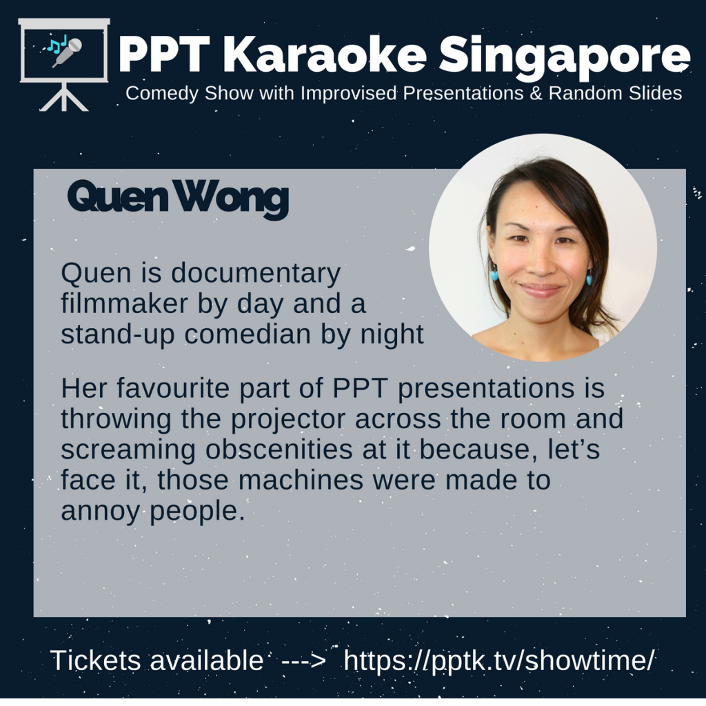 Quen Wong PowerPoint Karaoke Singapore