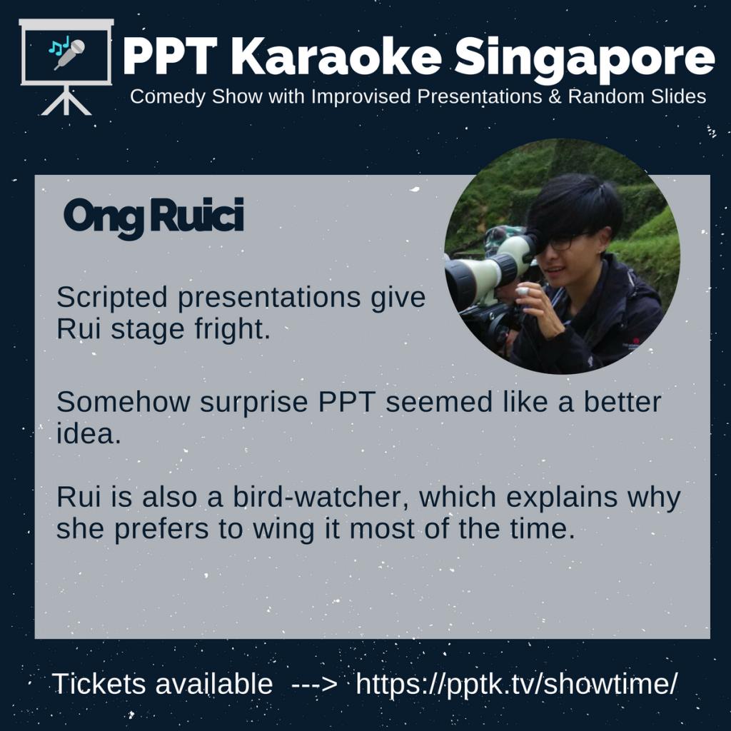 Ong Ruici PowerPoint Karaoke Singapore