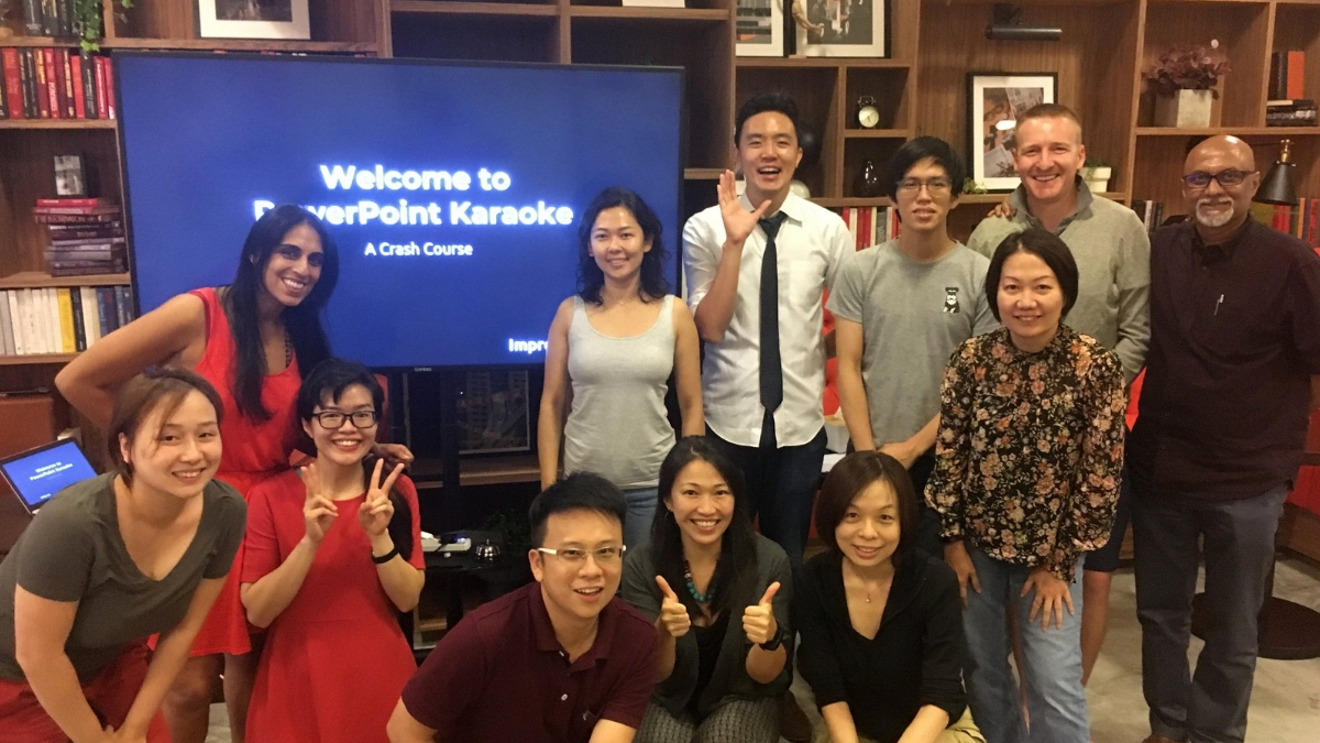 PowerPoint Karaoke Singapore Crash Course